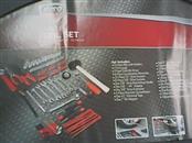 AUTO DRIVE Mixed Tool Box/Set 122 PIECE TOOL SET
